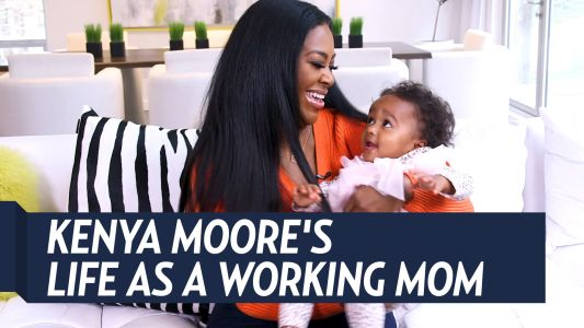 'RHOA' Star Kenya Moore Gets Real About Life as a Working Mom: 'It Takes a Miracle Sometimes'