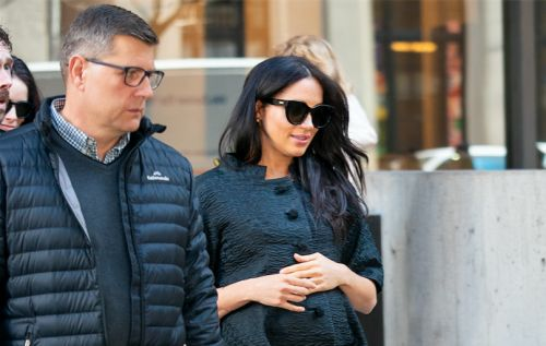 Meghan Markle Slays in All Black at Her NYC Baby Shower