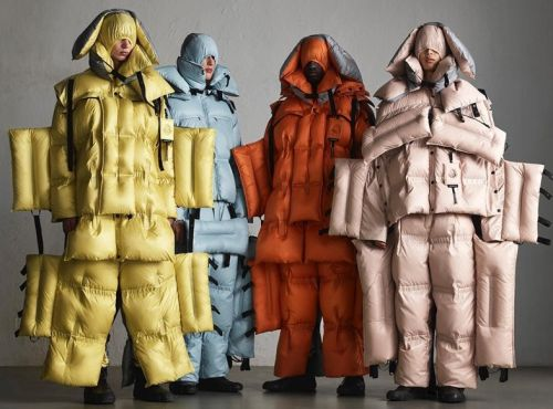 Craig Green on creating giant, windblown sculptures for new Moncler collab