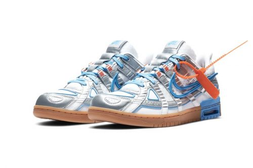 "Off-White™ x Nike Air Rubber Dunk ""University Blue"" Is Almost Here"