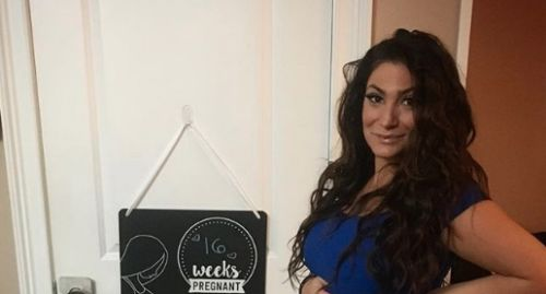 "'Jersey Shore' Star Deena Cortese Shows off Her Growing Belly: ""Baby's as Big as a Dill Pickle"""