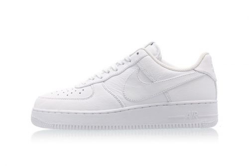 Nike Gives the Air Force 1 Triple White Oversized Branding