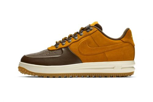 "Nike's Lunar Force 1 Duckboot Low Gears Up in ""Desert Ochre"""