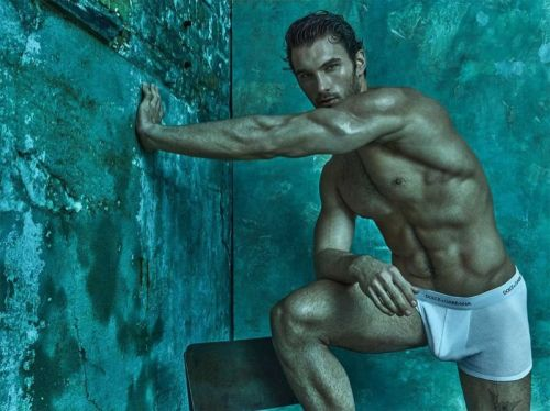 Michael Yaeger Fronts Dolce & Gabbana Underwear Outing