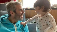 Andy Cohen Reunites With 1-Year-Old Son After Quarantine: 'His Face Lit Up'