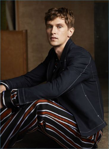 Mathias Lauridsen Fronts Tiger of Sweden Spring '18 Campaign