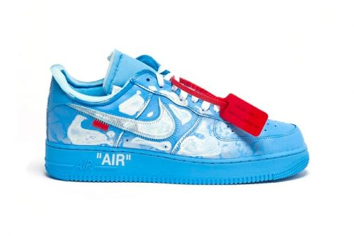 Take An Official Look at the Virgil Abloh x MCA Chicago x Cassius Hirst x Nike Air Force 1 '07