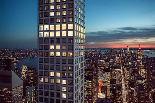 This $90M Full-Floor Aerie Is New York City's Most Expensive Home For Sale