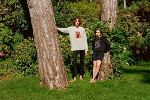 Agnès B Teams up With Carne Bollente for Graphic-Filled Capsule Collection