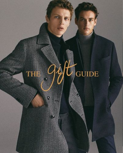 Tim Schuhmacher & Jegor Venned Inspire in Massimo Dutti Holiday '18 Gift Guide