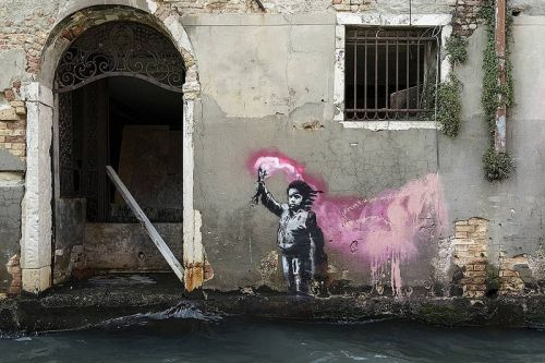 Banksy Confirms Venice Mural of Migrant Child