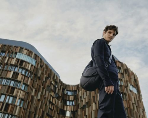 Mickael Lafon Steps Out in Ermenegildo Zegna High Performance Collection