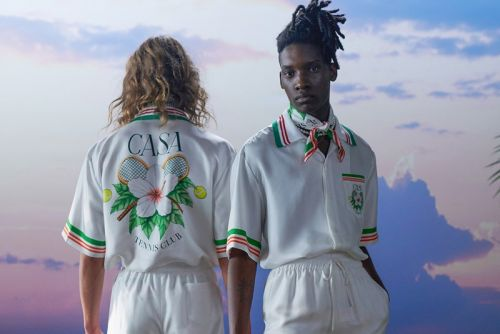 """Casablanca Celebrates Beauty With """"After the Rain Comes the Rainbow"""" SS21 Collection"""