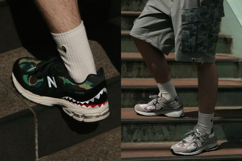 "BAPE and New Balance Reveal Full ""Apes Together Strong"" Collection"
