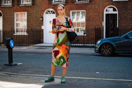 See what the models are wearing off-duty in London! Day 1