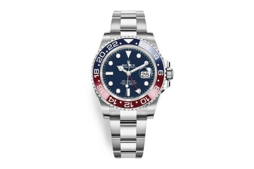 """Rolex Delivers the 2019 GMT-Master II """"Pepsi"""" in 18ct White Gold"""