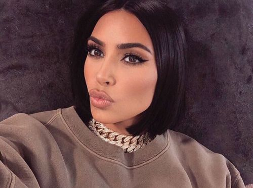 Kim Kardashian Uses Her New Body Makeup to Cover up Her Psoriasis and It Works Like Magic