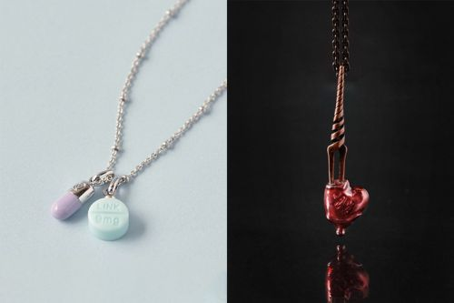 Q-pot. Plays off 'Evangelion' Motifs & Characters for Limited Jewelry Capsule