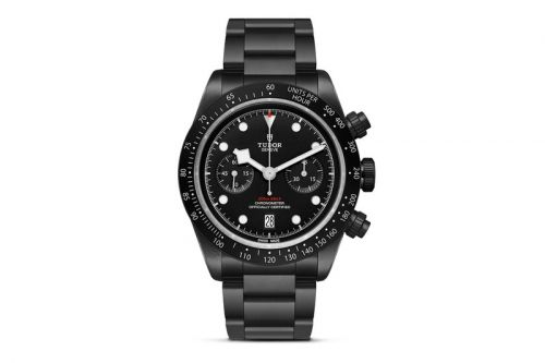 Tudor Celebrates the New Zealand All Blacks With Limited Edition Black Bay Chrono Dark