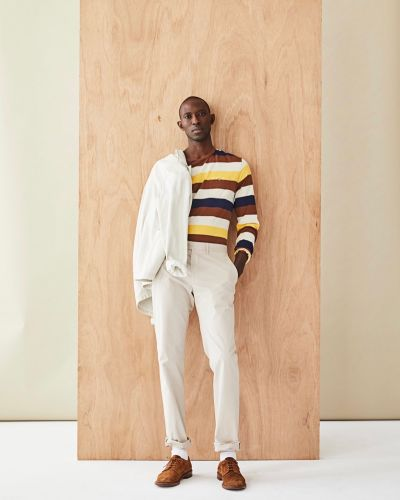 Armando Cabral Dons Smart Pre-Fall Style from Todd Snyder