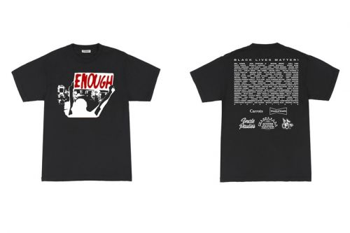Cherry Los Angeles Teams With Carrots, Wasted Youth and More For BLM Charity T-Shirt