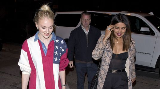 Soon-To-Be Sisters-In-Law Priyanka Chopra and Sophie Turner Look Fierce on a Night Out in LA