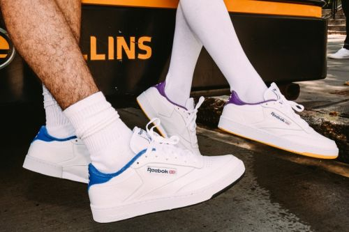 Eric Emanuel and Reebok Ready Colorful Club C Collection