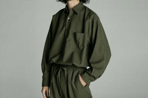 Lavish Textiles and Minimalist Military Styling Informs MARKAWARE SS20