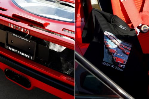 Period Correct Drops Ferrari F40-Inspired Collection