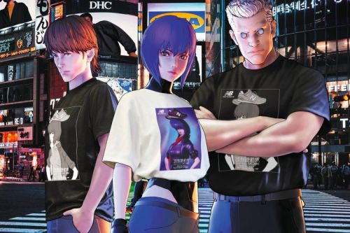 New Balance Readies a 'Ghost in the Shell SAC 2045' Capsule