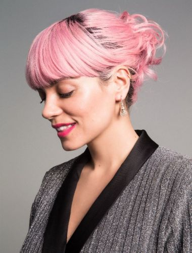 Get covergirl Lily Allen's pink locks with L'oreal Colorista