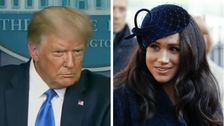 Donald Trump Says He's 'Not A Fan' Of Meghan Markle, Wishes Prince Harry 'Luck'