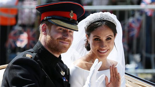 Meghan Markle and Prince Harry Celebrate Their First Wedding Anniversary on Instagram!