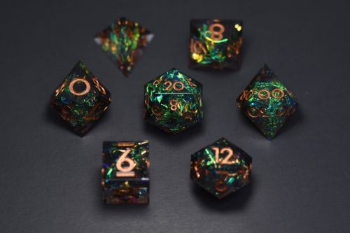 Handcrafted Dice Raise Over $1 Million in a Day on Kickstarter