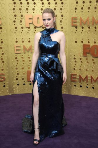 Rachel Brosnahan Strutted the Emmys Red Carpet Covered in Sequins, and We're Obsessed