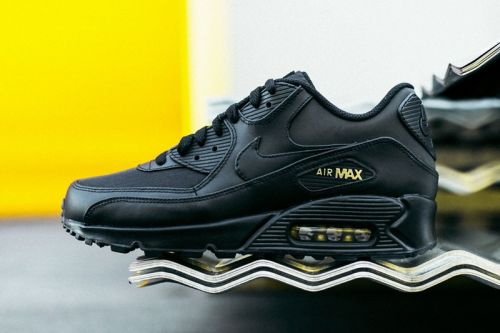 Nike Air Max 90 Is the Latest to Get the Black and Gold Treatment