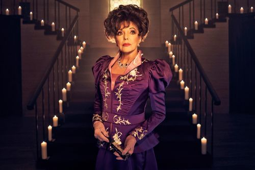 Joan Collins had nightmares over her bloody 'AHS' role