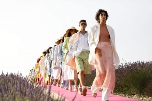Jacquemus Celebrates a Decade in the Lavender Fields