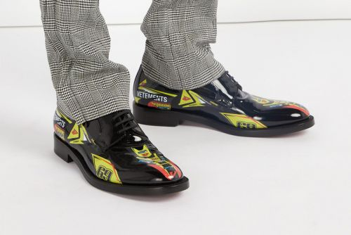 Vetements's Printed Derby Shoe Mixes Business With Pleasure
