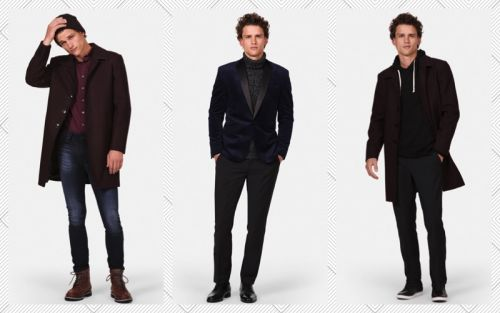Simon Nessman Dons 9 Pieces, 33 Looks for Express