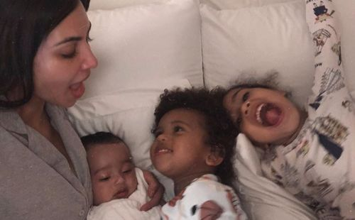 The Kardashian Kids Legit Don't Know They're Famous, According to Kim